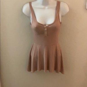Jersey knit summer dress